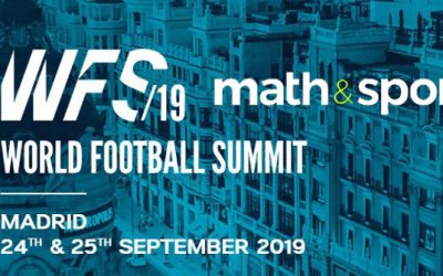 MATH&SPORT at the World Football Summit 2019 in Madrid