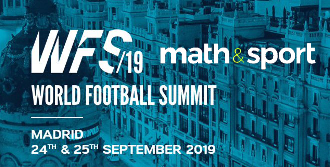 MATH&SPORT a Madrid per il World Football Summit 2019