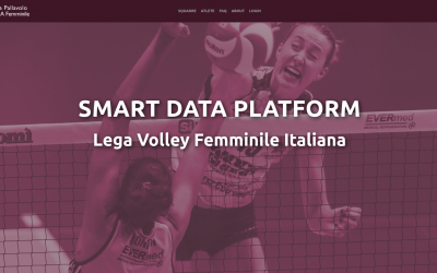 Math&Sport e Lega Volley Femminile introduces the Smart Data Platform