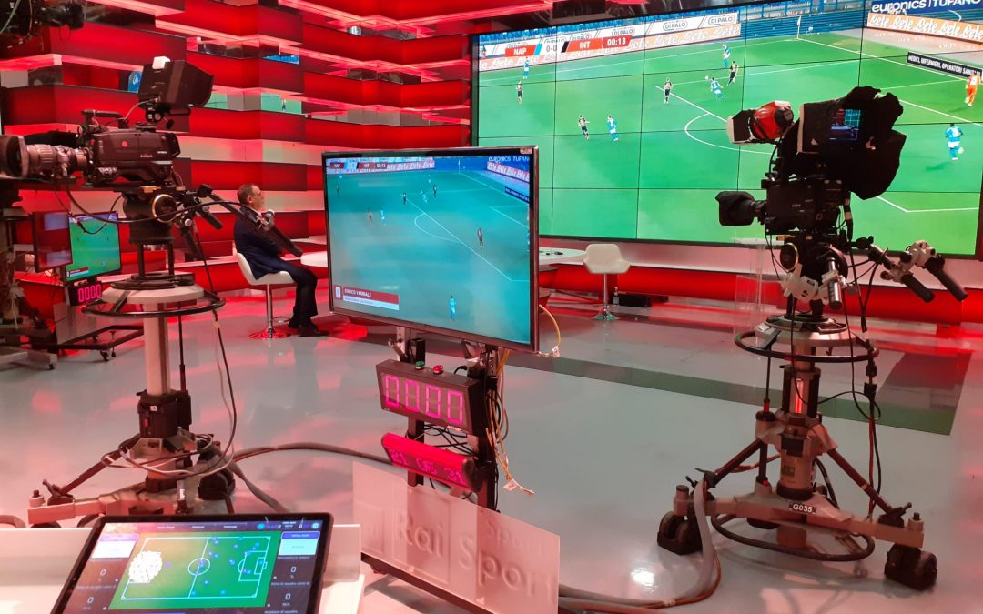Football Virtual Coach at the Coppa Italia Final