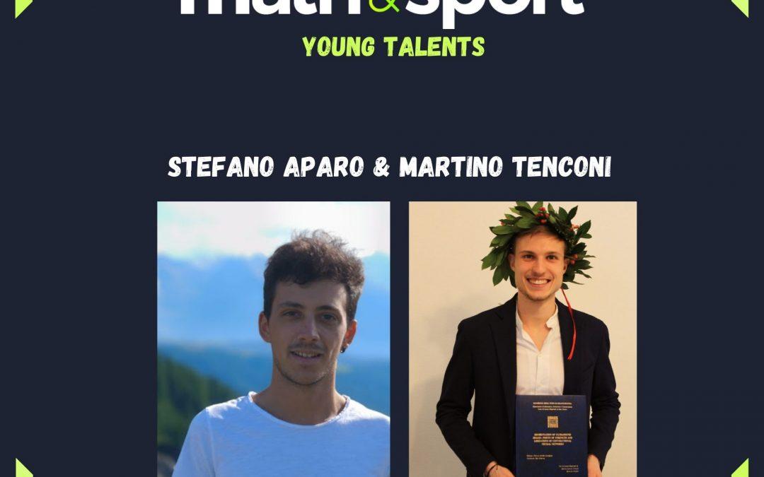 A tu per tu con Stefano Aparo e Martino Tenconi